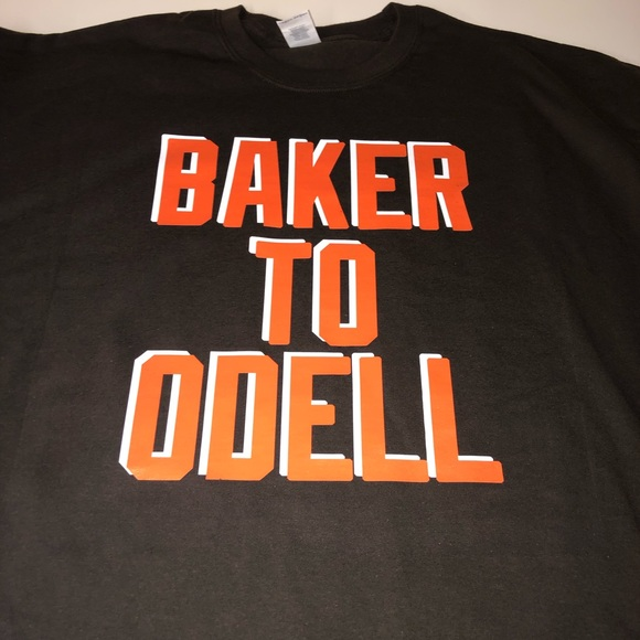 san francisco 03d87 ef362 Cleveland Browns Baker to Odell Shirt NWT